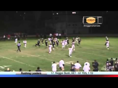 "South Gate Rams DB Antonio Washington on NBC 4's ""The Challenge: Roggin's Heroes"""