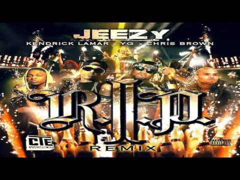RIP REMIX -  Young Jeezy ft. YG, Kendrick Lamar,Chris Brown Official RIP (audio)