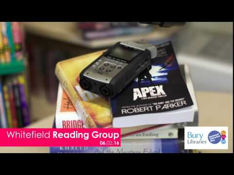 Whitefield Reading Groups Podcast- 06.02.16 National Libraries Day