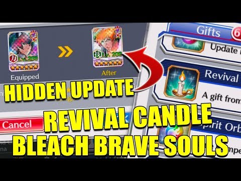 HIDDEN UPDATE and NEW REVIVE ITEM (Revival Candle) Bleach Brave Souls
