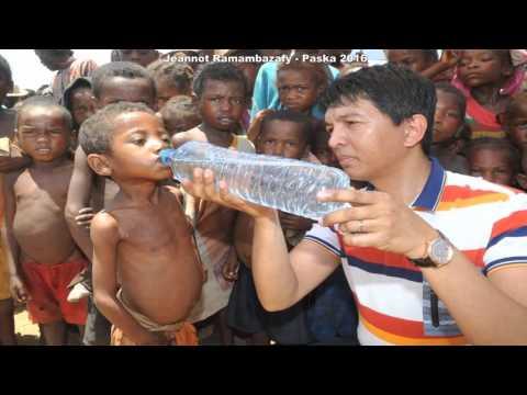 Andry Rajoelina FIFANKATIAVANA Paska 2016