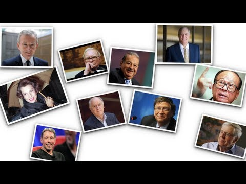10 Richest Men in the World 2013 (Forbes List Billionaires 2013)