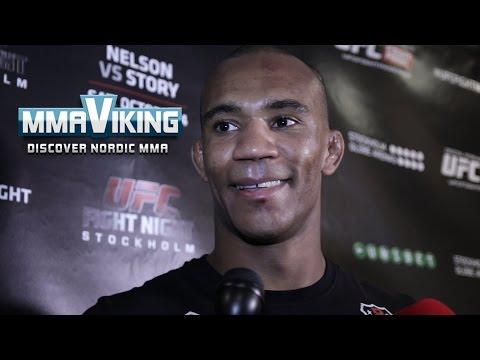 UFC Sweden 3 Nico Musoke Post Fight Scrum Interview
