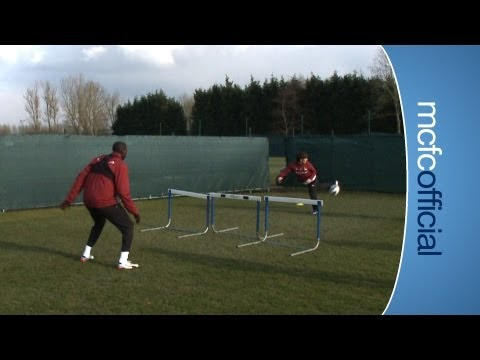 INSIDE CITY 69 - Yaya Toure v David Silva at football tennis