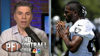 PFT Overtime: What's next for Brown, Raiders after helmet drama | Pro Football Talk | NBC Sports