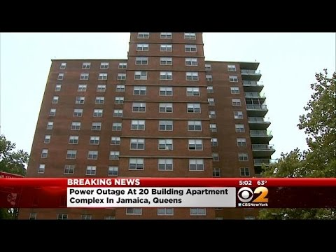 Power Outage Affects 20 Buildings In Queens Apartment...