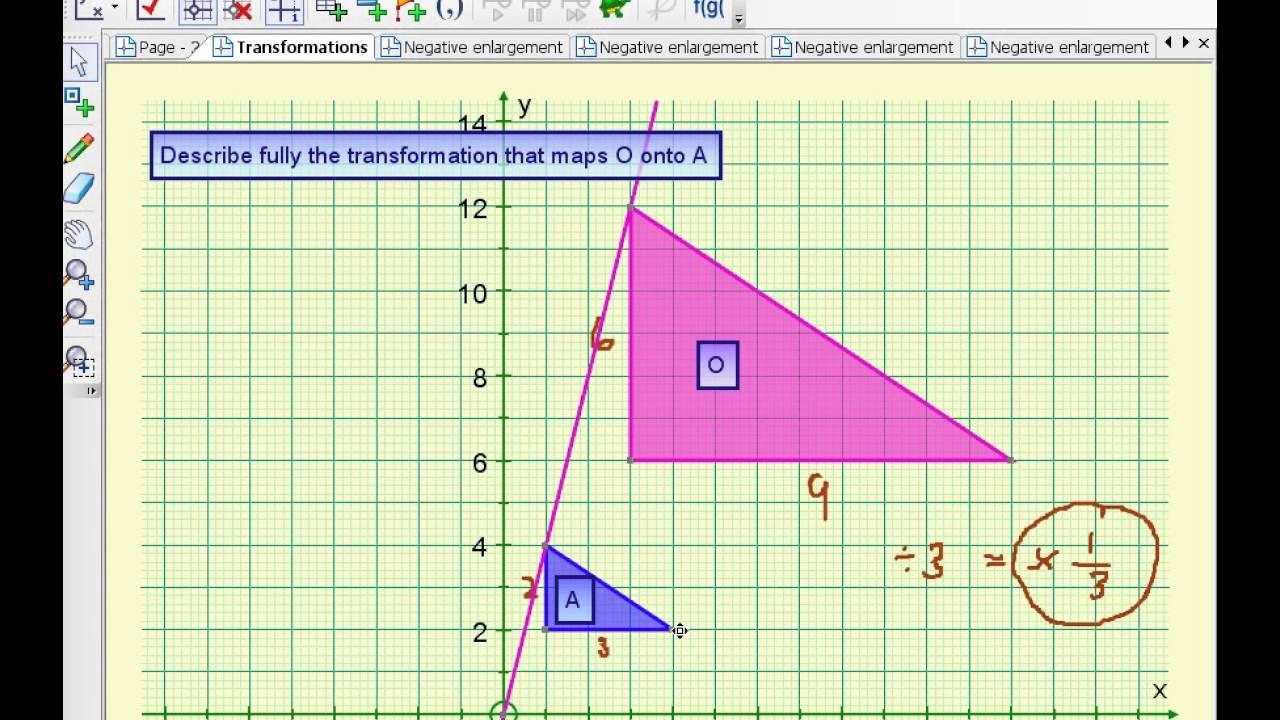Transformations Igcse Maths