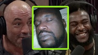 Joe Rogan Has a TV Show Idea for Shaq