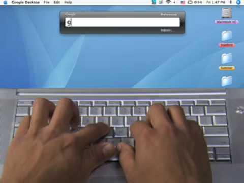 Google Desktop for the Mac + Gadgets