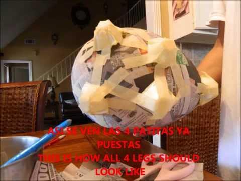 O Hacer Alcancias De Cochinitos  How To Make Piggy Bank