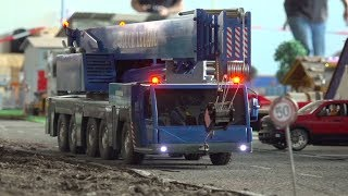 INCREDIBLE RC TRUCK ACTION I RC RAOD-SHOW TRUCKS I RC LIEBHERR CRANE I RC BUS I