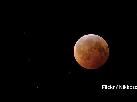 April's Pre-Easter 'Blood Moon': Bring Out The Conspiracies