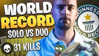 31 KILLS J'ÉGALISE LE WORLD RECORD SOLO VS DUO