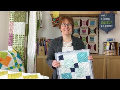 Quilt Tutorial Block 2 Patchworkdecke einfach gemacht