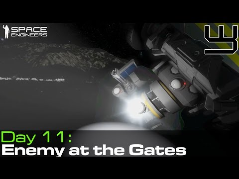 Space Engineers - Group Survival #8 - Enemy At The Gates