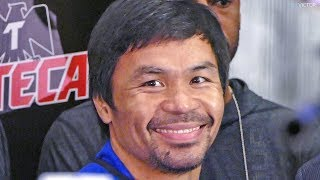 MANNY PACQUIAO - GRAND ARRIVAL AT MGM, LAS VEGAS   vs. Adrien Broner