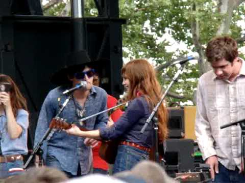 Jenny Lewis w/ Conor Oberst Handle with Care cover