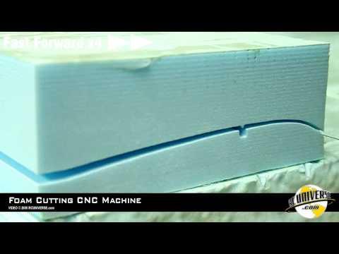 How To: CNC Foam Cutting Machine.  Part 2  Cutting