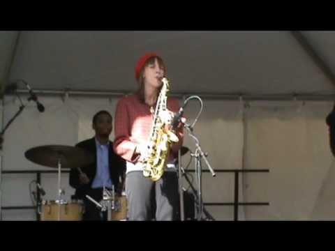 Hailey Niswanger's quartet