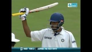 Wasim Jaffer 58 vs England 1st Test 2007 @ Lord's