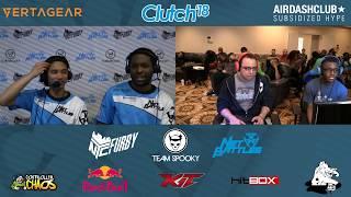 Clutch 2018 - SFVAE - Grand Final - Splash (Laura) Sabin (Dhalsim) [1080p/60fps]