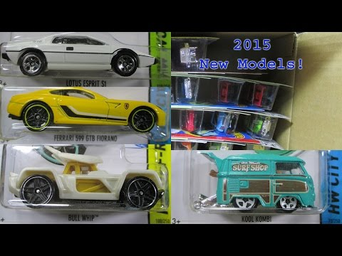 2015 A Hot Wheels Factory Sealed Case Unboxing 2015 New Models!