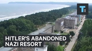 Nazi Holiday Resort Built By Hitler On The German Island of Rugen In The Baltic Sea Comes Back