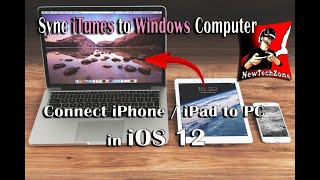 Connect iPhone to PC in iOS 12 | Sync iTunes to Windows Computer