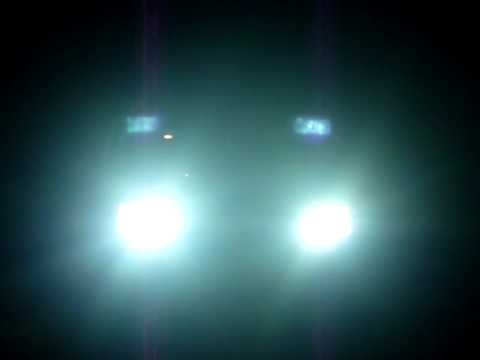 DDM Tuning 55 watt 8000K HID headlights on a 1996 Ford Explorer Sport 4x4 #1