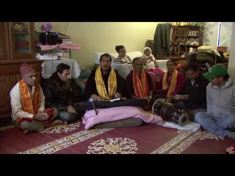 Nepali Bhajan Kirtan in Concord New Hampshire Part 1 ( Saraswati...