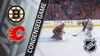 02/19/18 Condensed Game: Bruins @ Flames