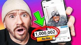 Buying 1 MILLION Views On Instagram!! (INSTAGRAM HACKS)