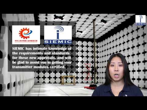 SIEMIC News - China Announces New MIIT SRRC Modular Radio Approvals