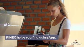 Rinex - Best Key Finder. Smart key finder. Tag key finder.  Smartphone key finder.