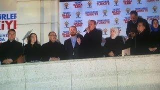 Başbakan Recep Tayyip Erdoğan Balkon Konuşması 30.03.2014