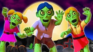 Zombie Apocalypse | Halloween Songs For Kids | Nursery Rhymes and 3D Baby Songs