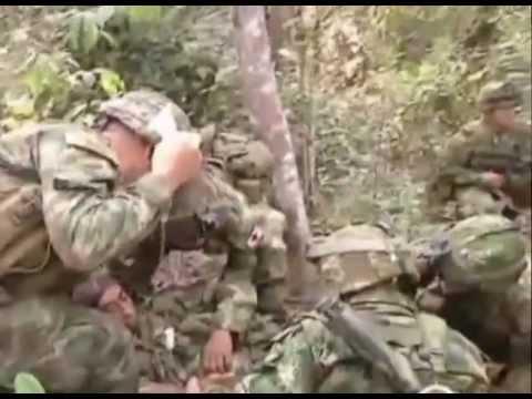 Chapas de guerra para un soldado