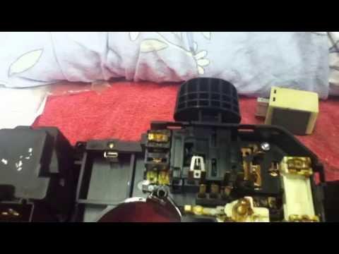 Pt cruiser multifunction switch, repair.