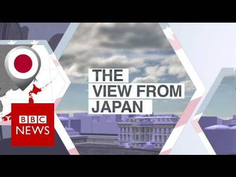 Who does Japan support in the US election?  BBC News