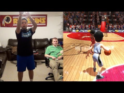 Big League Sports Mini Games (Kinect) - AntoDaBoss FaceCam!