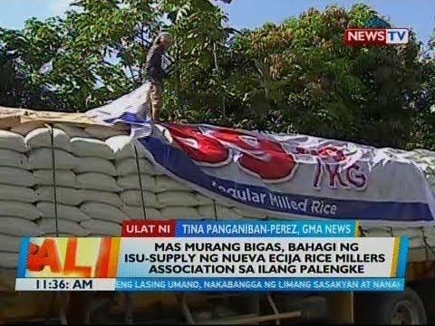 BT: Mas murang bigas, bahagi ng isu-supply ng Nueva Ecija rice millers association sa ilang palengke thumbnail