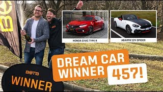 Winner! Week 2 2019 (January 7th - 13th) - Szilveszter Csordás - Civic Type-R + Abarth 124 Spider