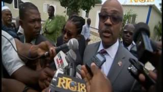 VIDEO: Haiti - PM Jack Guy Lafontant di Profese Lekol yo pwal touche nan budget rectificatif la