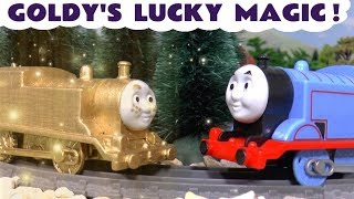 Thomas and Friends Goldy's lucky magic toy train story for kids - How does the magic work  TT4U