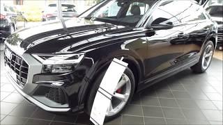 2019 Audi Q8 50 TDI S-Line Exterior & Interior 3.0 V6 Turbo 268 Hp 232 km/h 144 mph * Playlist