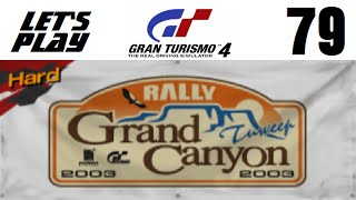 Let's Play Gran Turismo 4 - Part 79 - Special Condition Events - Grand Canyon Rally (Hard)