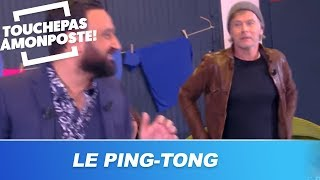 Le ping-tong avec Franck Dubosc et Tony Yoka