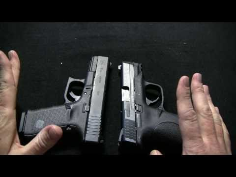 Smith & Wesson M&P 9c Vs Glock 19 gen 4