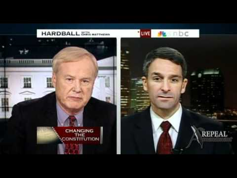 Kenneth Cuccinelli MSNBC Repeal Amendment Dec 2010