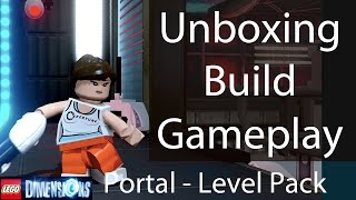LEGO Dimensions Portal Level Pack: Unboxing/Building/Instructions/Gameplay